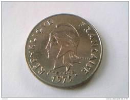 POLYNESIE FRANCAISE - 50 Francs 1975 - Nickel - Sup. - - Polynésie Française