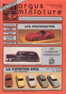 ARGUS De La MINIATURE N° 102 - Excellent état - Catalogues & Prospectus