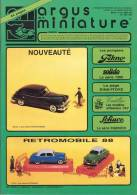 ARGUS De La MINIATURE N° 103 - Excellent état - Catalogues & Prospectus