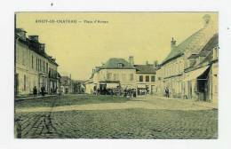 ANIZY LE CHATEAU - Place D'Armes ( Carte Toilée ) - Frankrijk