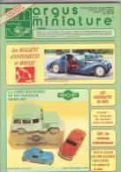 ARGUS De La MINIATURE N° 131 - Excellent état  - Bugatti - Catalogues & Prospectus