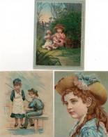 - Lot De 3 Images Anciennes - 750 - Vieux Papiers