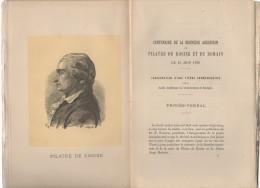 CENTENAIRE De La Dernière Ascension De Pilatre De Rosier Et De Romain Le 15 Juin 1785 , Tome Quatorzième  ,1888 - Picardie - Nord-Pas-de-Calais