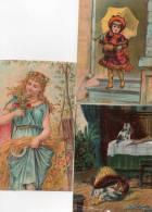 - Lot De 3 Grandes Images Anciennes, Dont 1 Abimée De SAINTE-OLLE-LEZ-CAMBRAI, Nord - 759 - Autres