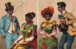 - Lot De 2 Grandes Et Belles Images Anciennes - 760 - Autres