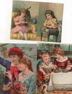 - Lot De 3 Grandes Et Belles Images Anciennes - 762 - Autres
