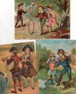 - Lot De 3  Grandes Images Anciennes - 763 - Andere