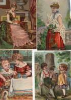 - Lot De 4  Grandes Images Anciennes - 764 - Autres