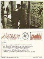 Postcard Gaumont Cinema C1956 Rock Around The Clock Bill Haley Comets Nostalgia Repro - Film