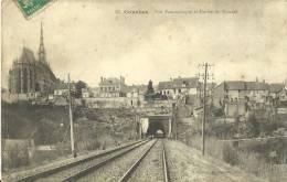 16 - CONCHES - Vue Panoramique Et Entrée Du Tunnel - 1913 - Conches-en-Ouche