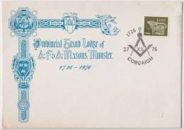 Freemasonry, Compass, Masonic Symbol, Special Cover, Ireland - Franc-Maçonnerie