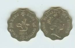 HONG KONG ---2 DOLLARS COIN----1986----- - Hong Kong