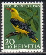 Zu J 229 PRO JUVENTUTE 1969 ** / MNH - Ungebraucht