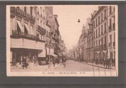 Tarjeta Postal Circulada Dijon - Dijon