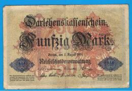 ALEMANIA - GERMANY -  20 Mark 1914 MBC-  P-49 - [ 2] 1871-1918 : Imperio Alemán