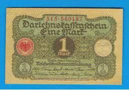 ALEMANIA - GERMANY -  1 Mark 1920 SC  P-58 - [ 3] 1918-1933 : República De Weimar