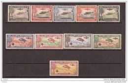 ES339-L2095TESSC.España Spain.Espagne 1ª CRUZ ROJA ESPAÑOLA AEREA 1926 (Ed 339/48**). Sin Charnela MAGNIFICA - Sellos