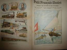 1901 Le Petit Français Illustré : Les Oiseaux De La Plage ; Le SANTOS - DUMONT ; Les CHEMINS De FER ; - 1901-1940