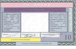 """Euro De """" Perpignan """" 10 Euro . RARE .... 200 Exemplaires . - Euro Der Städte"""