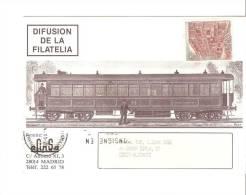 Tarjeta De Trenes - 1931-Hoy: 2ª República - ... Juan Carlos I