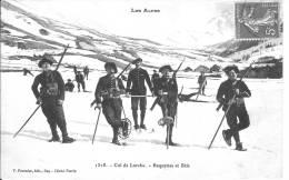 Col De Larche - Chasseurs Alpins En Raquettes - France