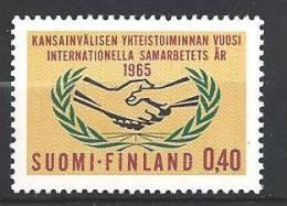 Finlande 1965 N° 569 ONU