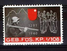 FP 474 - INFANTERIE - GEB. FÜS. KP. I/108 - Poste Militaire