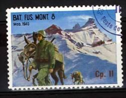 FP 486 - INFANTERIE - BAT. FUS. MONT. 6 Cp. II - Militaires Avec Chevaux - Poste Militaire
