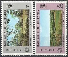 1977 EUROPA CEPT TURISMO GUERNSEY MNH ** - 1977