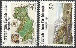 1977 EUROPA CEPT TURISMO LIECHTENSTEIN MNH ** - Europa-CEPT