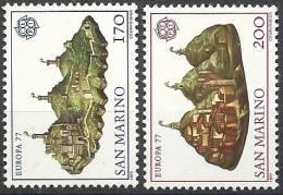 1977 EUROPA CEPT TURISMO SAN MARINO MNH ** - Europa-CEPT