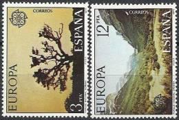 1977 EUROPA CEPT TURISMO SPAGNA MNH ** - Europa-CEPT