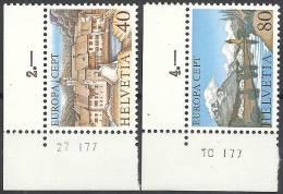 1977 EUROPA CEPT TURISMO SVIZZERA MNH ** - Europa-CEPT