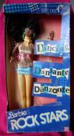 JE VENDS LA COLLECTION BARBIE DE MA MERE * 1986 ? MATTEL DEE DEE BABIE ROCK STARS EN BOITE  * - Barbie