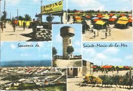 CPSM 13 - Saintes Maries De La Mer - Le Camping - Saintes Maries De La Mer