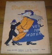 FANTASIO 1914 - ROUBILLE - DUVERNOIS - CLEMENT BAYARD - BARRERE - LAUT - FABIANO - RAPENO - CAMI - 1900 - 1949