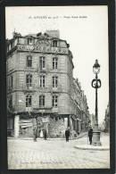 80. AMIENS EN 1918 (SOMME ). RUINES...LA GRANDE PHARMACIE DE PARIS. RUE RENE GOBLE....ANIMEE...C1195 - Amiens