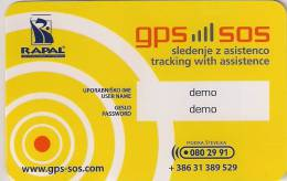 Slovenia GPS Demo Card - Slovenia
