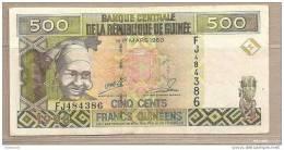 Guinea - Banconota Circolata Da 500 Franchi - 1998 - Guinea