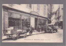 Semur - La Quincaillerie E.Dechaux , Les Voitures De Livraison - Semur