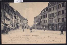 Payerne - Grand Rue Vers 1905 ; Cachet De L'Ecole De Recrue D'Artillerie ; Pli Vertical Vers Le Milieu (scan)(10'424) - VD Vaud