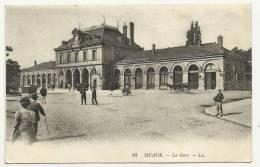 MEAUX (SEINE ET MARNE - 77) - CPA - LA GARE - Meaux