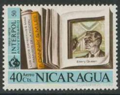 "Nicaragua 1972 Mi 1691 ** ""Ellery Queen"" By Frederic Dannay (1905-1982)+ Manfred B. Lee (1905-1971) American Detective - Schrijvers"