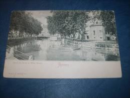 Annecy - Canal Du Vassé Et Hotel Verdun - Précurseur - Ed. Burnoo - L127 - Annecy