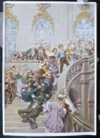 LITHO Allemande 12X17 Illustrateur PAUL HEY Deutsche Marchen 4 N° 33  Die Goldene Gans  GRIMM - Sammlungen