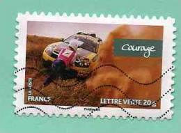 FRANCE 2013 - Y&T N° A 7.. : FEMMES DE VALEURS +++ COURAGE + AUTO DESERT SABLE - Used Stamps