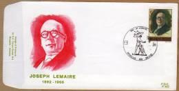 Enveloppe FDC 2047 650 Joseph Lemaire - FDC