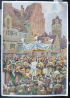 LITHO Allemande 12X17 Illustrateur PAUL HEY Deutsche Marchen 4 N° 43 Kaisers Neue Kleider ANDERSEN - Collections