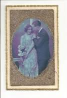 CPA Couples - Paillette - S´ouvre En Livret  Avec En Plus Du Texte De L´expéditeur Une Citation De Victor Hugo - Couples