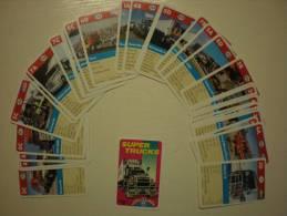 Cartes De Famille, Super Trucks - Unclassified